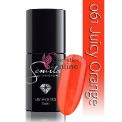 Oja UV Semilac 061 rosie Juicy Orange 7 ml